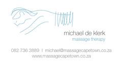 Massage Cape Town business card (up on your leopard) Tags: capetown massage massagetherapy sportsmassage mobilemassage