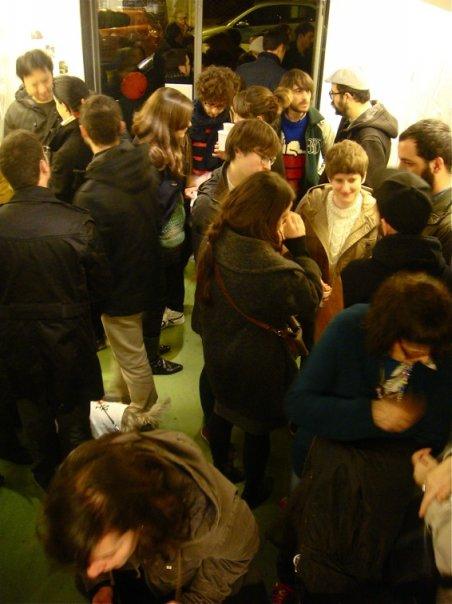 Inauguración expo Antoni Hervas en Tiendaderecha