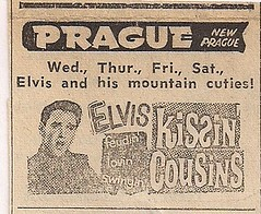 04/64 Elvis Kissin' Cousins (Prague Theatre, New Prague, MN)
