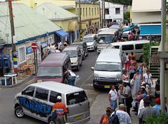 Traffic Chaos (nigelpilgrim) Tags: cars traffic antigua caribbean nigel barbuda heritagequay nigelpilgrim