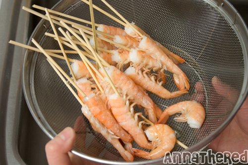 How to prepare shrimp for sushi
