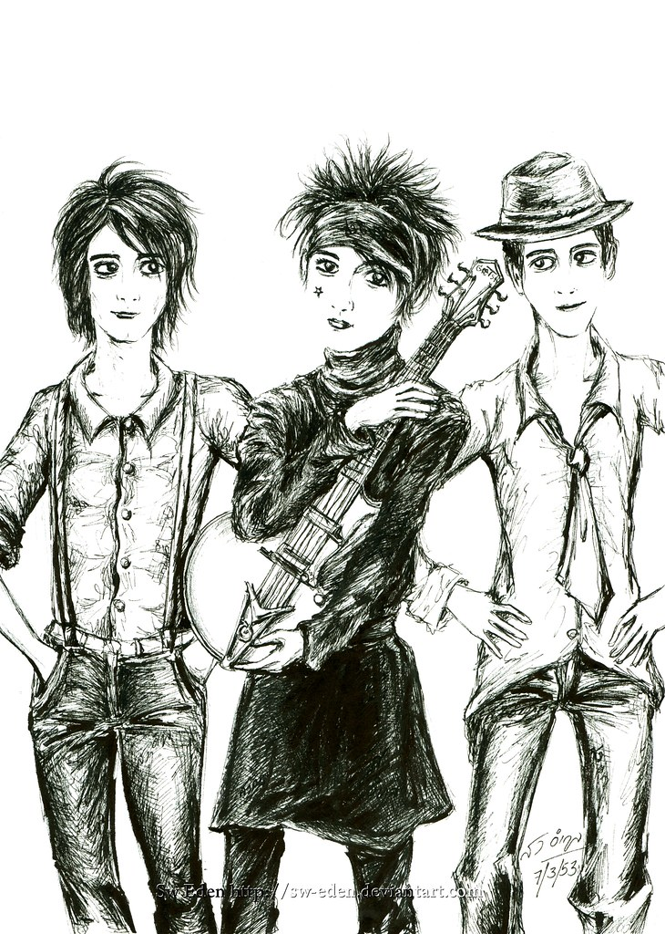 William Beckett, Ryan ross?, Gabriel Eduardo