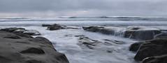 La Jolla (MS6-582) Tags: ocean longexposure sunset sky beach water clouds moss nikon rocks waves sandiego tide lajolla ripples algae saltwater extendedexposure clifs softwater d90 18105mm