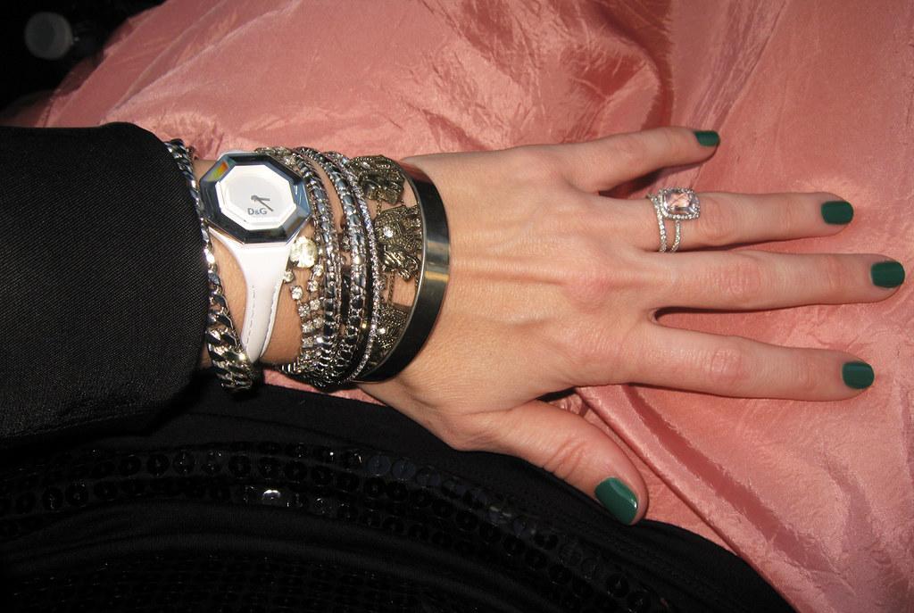 bracelets accessories jade is the new black polish