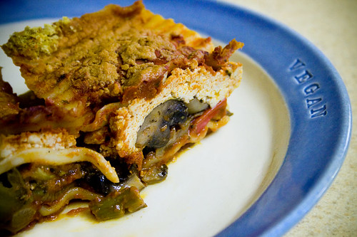 Cooking From 1,000 Vegan Recipes: Roasted Vegetable Lasagna