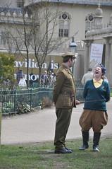 Land_Girls_001 (Peter-Williams) Tags: uk girls gardens sussex uniform brighton secondworldwar paviliongardens wraf landarmy landgirls