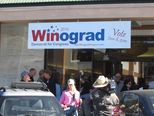 Winograd For Congress Headquarters