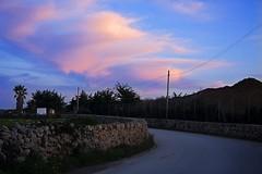 Camí Vell  Ciutadella (50josep) Tags: nubes invierno puestadesol menorca ciutadella canon40d 50josep