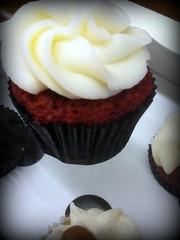 Red Velvet Devils cupcakes at Divine Bites