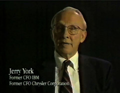 Jerry York - Apple's new Board of Directors intro