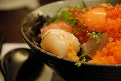 金泰海鮮蓋飯 - 干貝