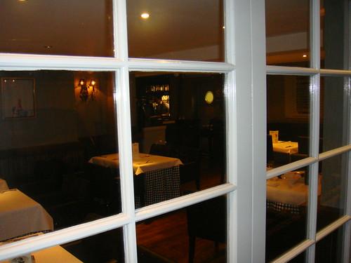 Vista del restaurante desde el exterior