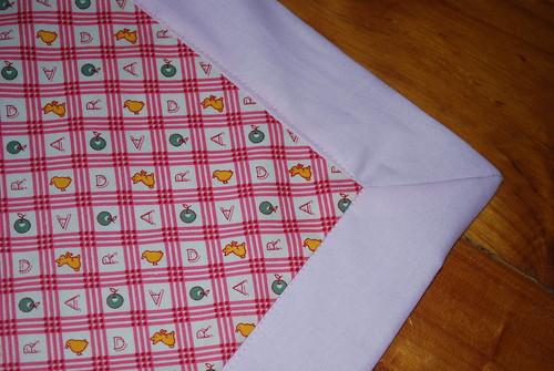 Scarlet's blanket
