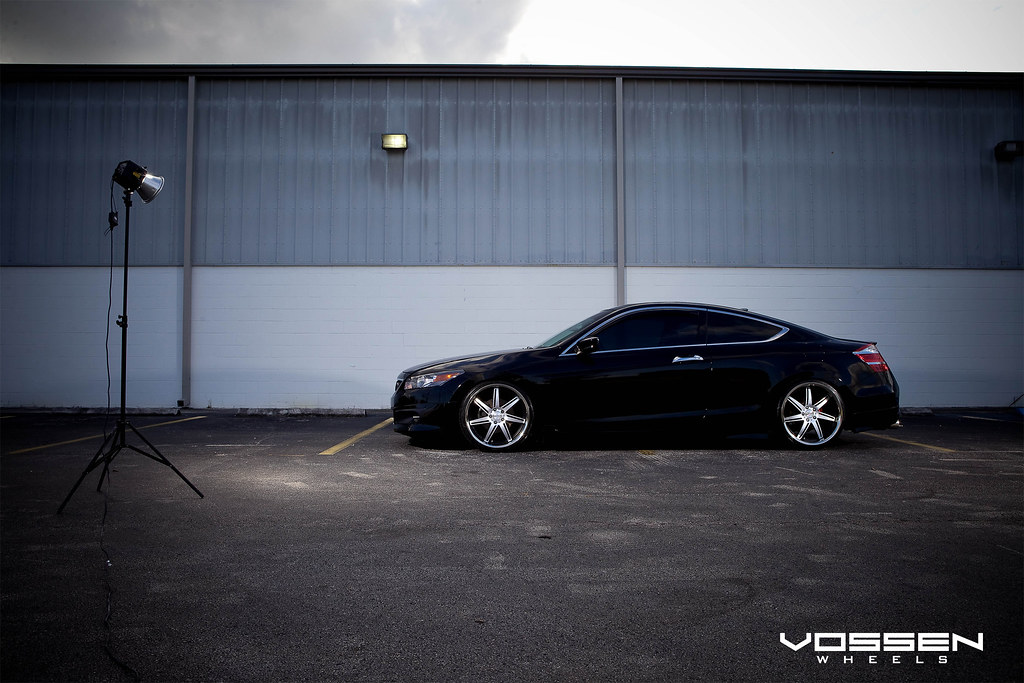 Honda Accord on Vossen Wheels?? Best looking Accord I have ...