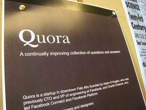 Quora Debate