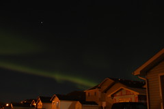 Northern Lights in Fort McMurray (Fernando Baez) Tags: lights aurora northern boreal