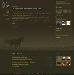 ice-horse.de - altes Design