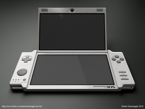 Nintendo 3DS par Angel Art 3D