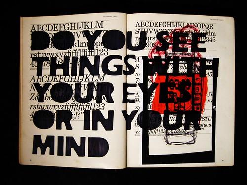 eyes or mind