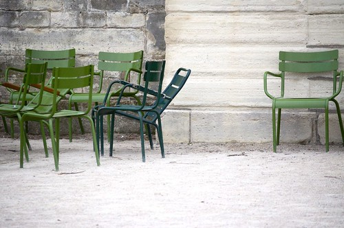 Chairs at Tuileries