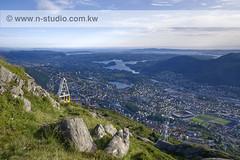 Bergen (SanforaQ8) Tags: camera trip blue sky green norway lens landscape photo nikon europe no pic finepix fujifilm bergen q8 2090 2770mm s5pro sanfora nadamarafie nstudiolivecom wwwnstudiocomkw 66383666
