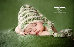 Little Sprout. Front page EXPLORE (Kidzmom2009) Tags: sleeping winner photocontest greenbaby kidzmom2009 familygetty2010 kfsphotography