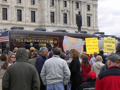 Video of a speech at the Tea Party Express rally in Minnesota (Fibonacci Blue) Tags: minnesota stpaul rally bachmann republican teaparty tea party express government private property debt collapse extremist power movement accountability washington extreme mob fear conservative healthcare teabag teabagger libertarian obama care insurance big small socialized socialism communist communism reagan bagger signs signage liberty constitution twincities video movie angry anger capital capitol fascism fascist financial finance gop bush gwb health obamacare affordable act partier protest protester activist activism