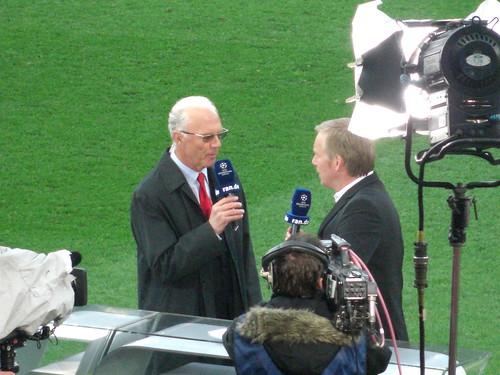 Franz Beckenbauer und Johannes B. Kerner