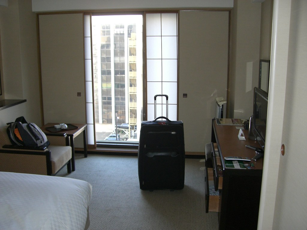 My Hotel Room at Kyoto