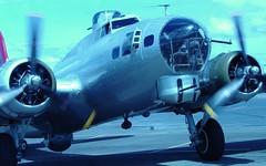 B-17G Aluminum Overcast (c0yote) Tags: b17 museumofflight boeing bomber flyingfortress warbird aluminumovercast b17g kbfi flyinghistory