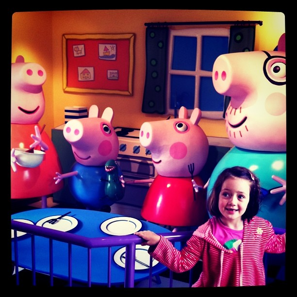 Peppa's house #PPworld