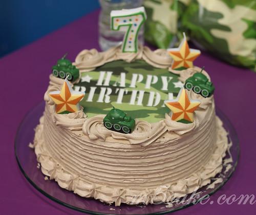 Military Tank cake -3