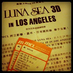 Luna Sea 3D in L.A.