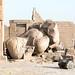Ramesseum in Egypt   The Ozymandias Colossus: