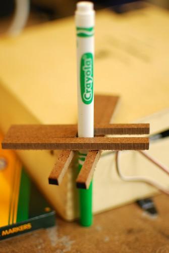 pen holding hardware test