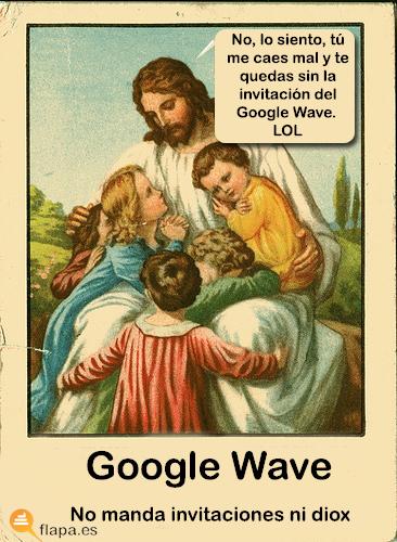 jesus lol google wave