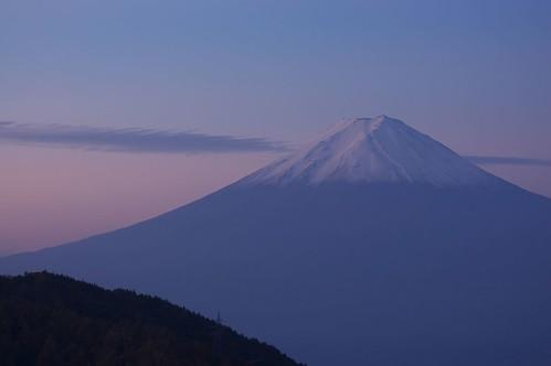 天下茶屋@御坂峠からの富士山 - Mt.Fuji from misaka pass