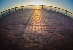 Sunrays... (e0nn) Tags: lighthouse sunrise point pentax fisheye blowhole kiama steev wollongong 10mm explored da1017 explore342 k200d wollongongpictorialmafia steveselbyphotography