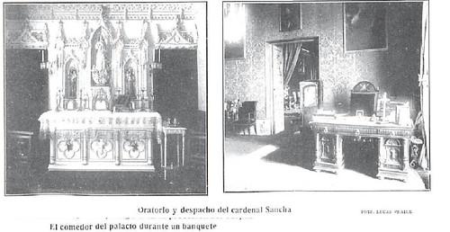 Oratorio y despacho del Cardenal Sancha