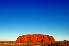 Ayers Rock Outback Australia - Uluru (sandra.melcer) Tags: blue rock australia outback uluru australien blau ayers ayersrock