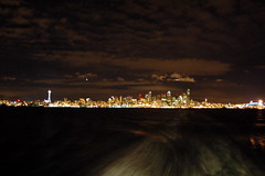 seattle at night (_anjolie_) Tags: seattle ferry night tobainbridge ridingsolo