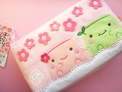 Kawaii Hannari Tofu Pouch Cute Cosmetic Purse Bag Passport (Kawaii Japan) Tags: pink anime flower cute green floral smile smiling japan shop shopping bag asian happy japanese store nice soft pretty pastel character small tofu adorable cutie goods collection lindo pouch stuff kawaii fancy accessories lovely cuteness passport goodies collectibles cosmetic raro niedlich  gentil atraente japanesecharacter grazioso japanesestore selten cawaii japaneseshop foodwithfaces kawaiigoods bagsandpurses fancyshop kawaiistuff kawaiishopping kawaiijapan hannaritofu kawaiistore kawaiizakka kawaiishop japanesekawaii kawaiishopjapan