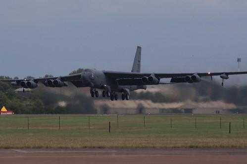 Warbird picture - B-52H - 200709 RIAT Departures RAF Fairford