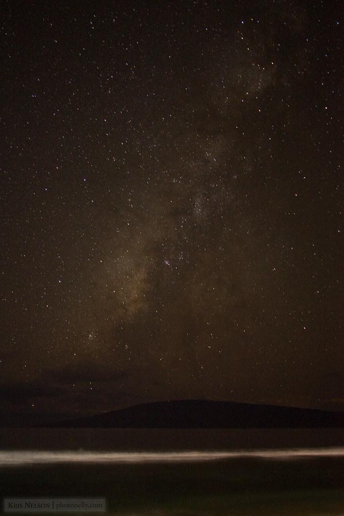 Milky Way over Lanai