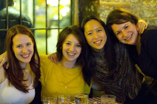 Tracy, Claire, Jessica, Amanda