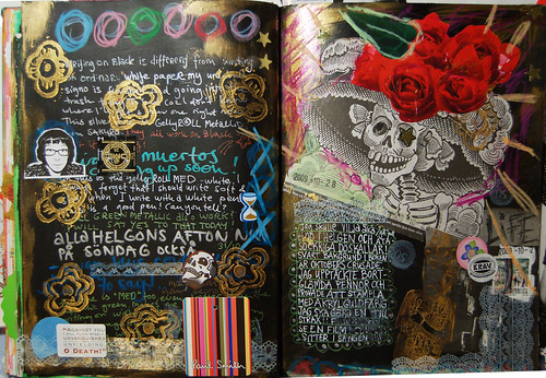 Art Journal: Dia de los Muertos 2009 (Copyright Hanna Andersson)