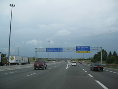 King's Highway 401 - Ontario (Dougtone) Tags: road toronto ontario canada london sign highway cornwall guelph kitchener route kingston freeway windsor shield expressway brockville oshawa 072609