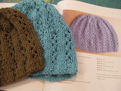 two knitted caps