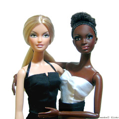 Barbie Black & White. (Sandra) Tags: barcelona flickr sandra head ooak barbie lara mold fashiondoll mattel aa alvinailey pivotal dollcollection mbili modelmuse headmold bestmodelsonlocation laraheadmold mbiliheadmold sandra sandraflickr sandraflickr