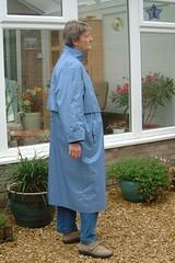 2a - British Mist - 56e (Silver Linings) Tags: mac rubber raincoat rainwear rubberised